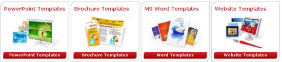 Vorlagen Powerpoint Folien MS Word